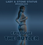 Art by LCTR – Lady & Stone Statue – Broken Ass – Final Part 2