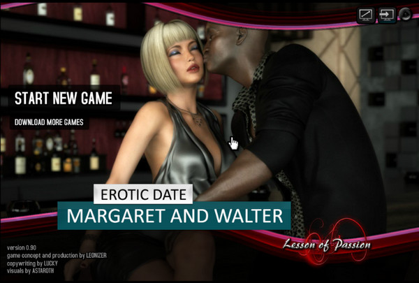 Lesson of Passion - Erotic Date Margaret and Walter