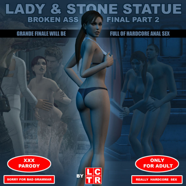Art by LCTR – Lady & Stone Statue – Broken Ass – Final Part 2 (III-IV)