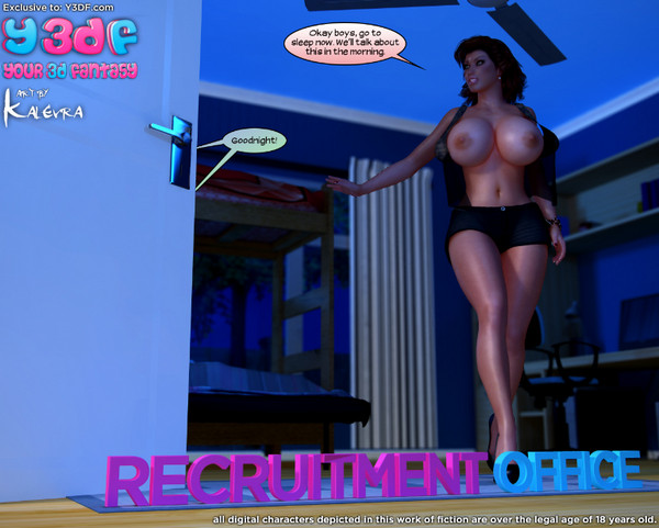 Art by Y3DF – Recruitment Office