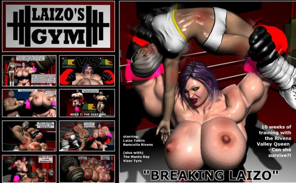 Art by Laizo's Gym – Breaking Laizo