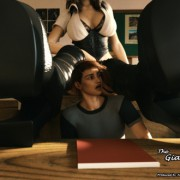 Art by FaTerGD - The Giantess Family Chapter 4 - Size Matters
