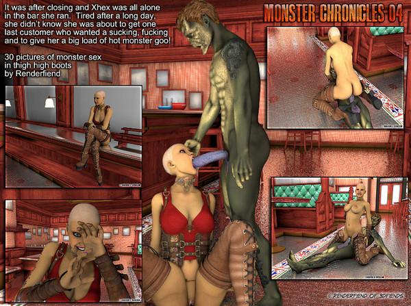 Art by 3D Fiends – Monster Chronicles (part 1-4)