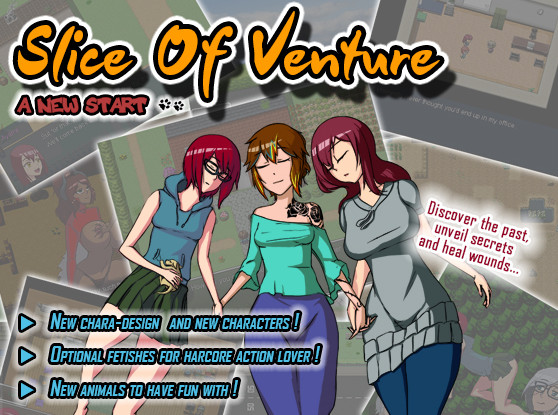 Blue Axolotl - Slice of Venture - A New Start (Update) Ver.1.1a
