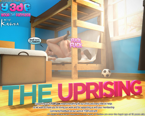 Art by Y3DF – The Uprising (Update)
