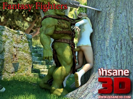 Art by Insane3D – Fantasy Fighters (images+video)