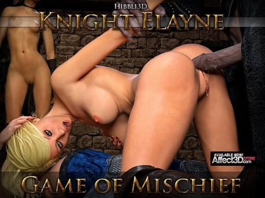 Art by Hibbli3D – Knight Elayne Game Of Mischief