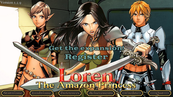 Winter Wolves - Loren The Amazon Princess Ver.1.2.9