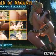 Art by Lord-Kvento – World Of Orgasm Golems Awakening