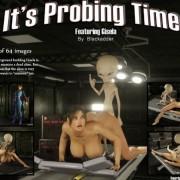 Art by Blackadder - It's Probing Time