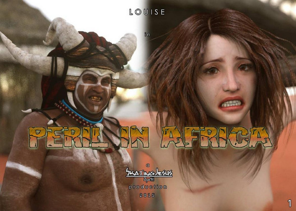 Art by SkatingJesus – Peril in Africa