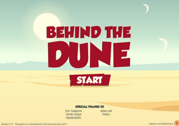 David Goujard - Behind the Dune (InProgress) Update Ver.7.6
