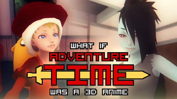 "Mike Inel - What if ""Adventure Time"" was a 3D Anime Game (InProgress) Beta 7"