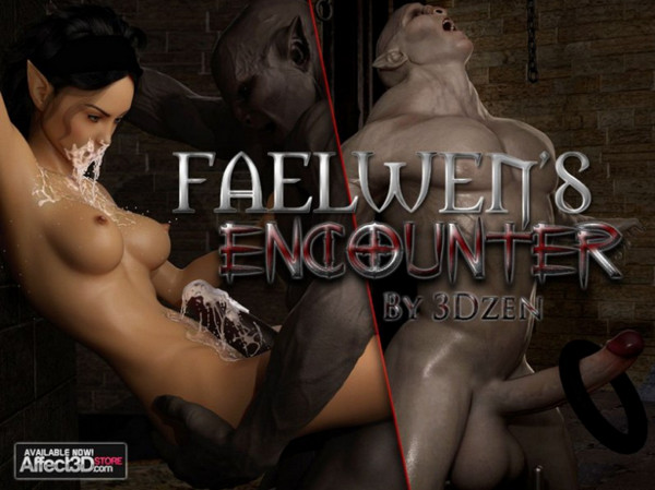 Art by 3DZen – Faelwens Encounter