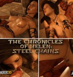 Art by Paradox3D – The Chronicles of Helen Steel Chains