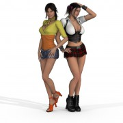 Vdategames – Virtual Date Girls: April and Violet (Full Game)