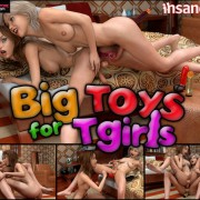 Art by Insane3D – Big Toys For Tgirls
