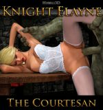 Art by Hibbli3D – Knight Elayne – The Courtesan (Chapter 1)