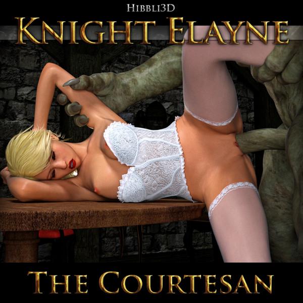 Art by Hibbli3D – Knight Elayne – The Courtesan (Chapter 1)