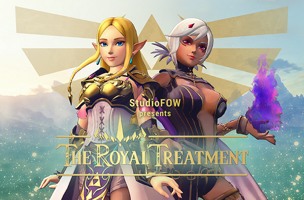 the royal treatment studio fow