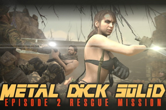 Metal Dick Solid (Porn parody) Episode 1-2