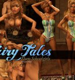 Art by Gator3D – Fairy Tales – Elven Schoolgirls