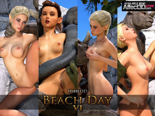 Art by Hibbli3D – Beach Day Part 6