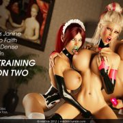 Art by Miki3DX – Bimbo Training Session Two