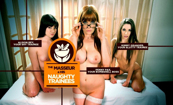 Lifeselector – The Masseur & his Naughty Trainees