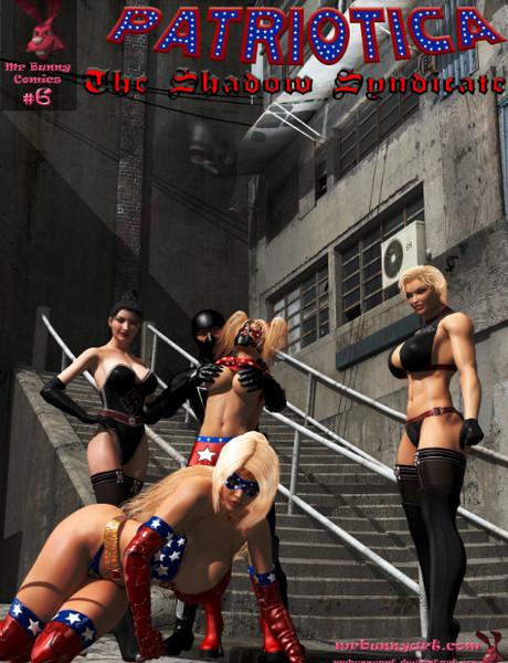 Art by MrBunnyArt – Patriotica vs The Shadow Syndicate