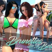 Art by TheDude3DX – Brunettes Do It Better