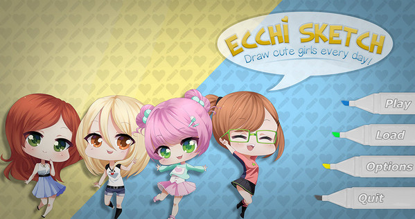NewWestGames - Ecchi Sketch: Draw Cute Girls Every Day! Ver.1.0