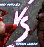 Art by Squarepeg3D – The F.U.T.A. – Bunny Markes vs Queen Cobra