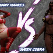 Art by Squarepeg3D – The F.U.T.A. – Bunny Markes vs Queen Cobra