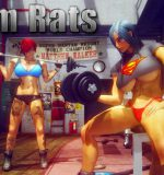 Art by Shassai – Gym Rats