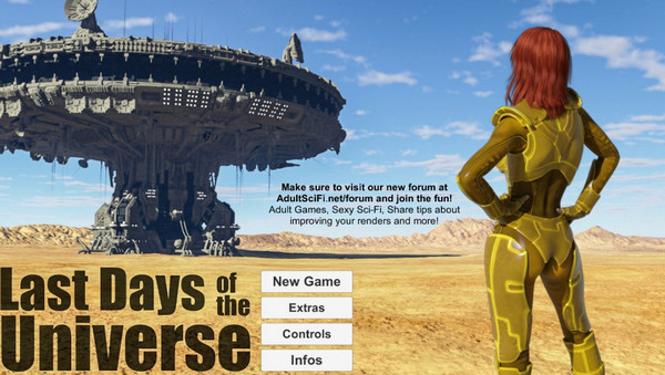 LastDays - Last Days of the Universe – Episode 1 Female – Prologue Male