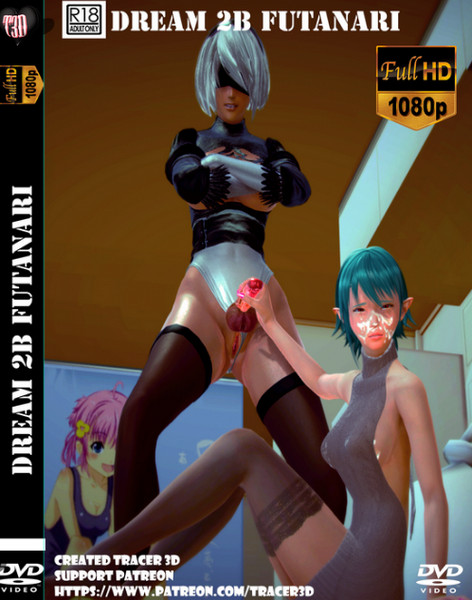 Tracer3D – Dream 2B Futanari (character 2B NieR: Automata)