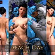 Art by Hibbli3D – Beach Day 7