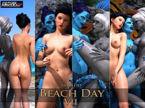 Art by Hibbli3D – Beach Day 7