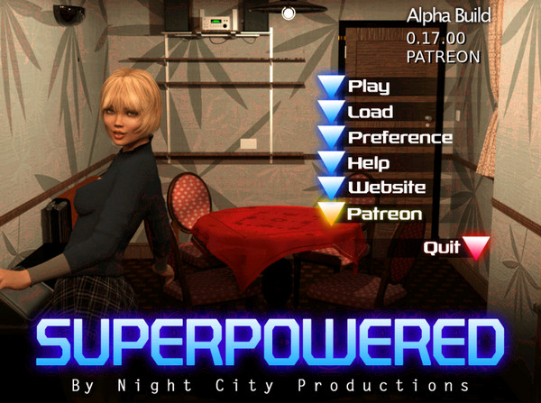 Night City Productions - SuperPowered (InProgress) Update Ver.0.17.00