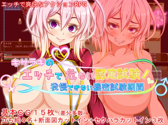 Pixel-teishoku - Kisaragi's Dangerously Erotic Certification Exam! - Resistance Is Futile