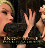 Art by Hibbli3D – Knight Elaine – Demon Kingdom