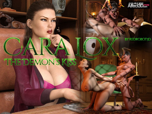 Art by RedRobot3D – Cara Lox – The Demon's Kiss