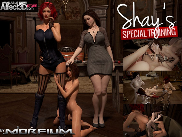 Art by Morfium – Shays Special Training