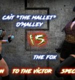 Art by Squarepeg3D – The FUTA – Season 01, Match 01 – Cait O Malley vs The Fox