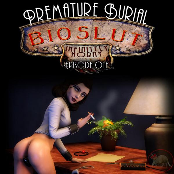 Art by Lord Aardvark – Bioslut Infinitely Horny – Premature Burial 1-2