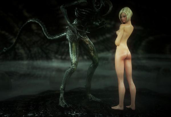 Art by Vaesark – CGS67 – Alien Communion 2