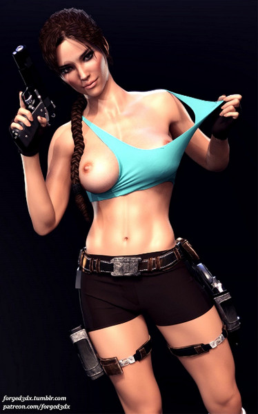 Lara Croft (Tomb Raider) assembly