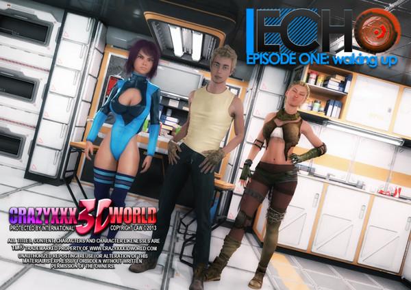 Crazyxxx3Dworld - Echo (Episode 1-12)