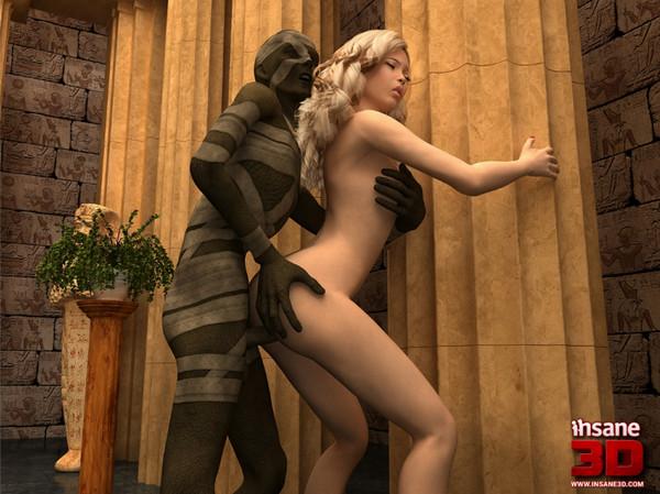 Art by Insane3D – Pharaoh's Wife